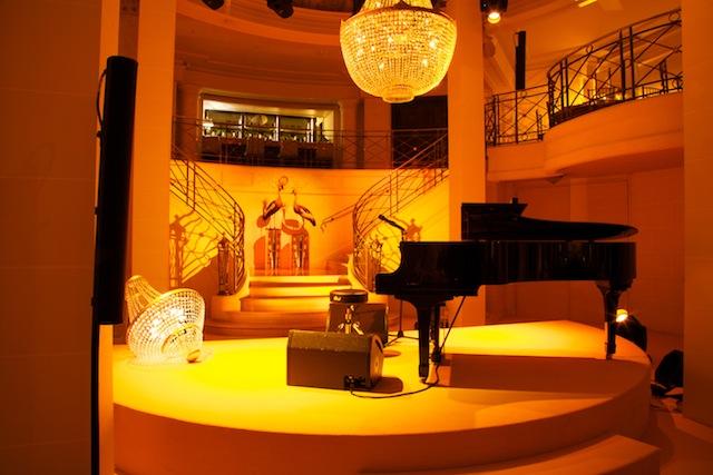 Lamparas Louis Vuitton en el Hotel Ritz de Paris