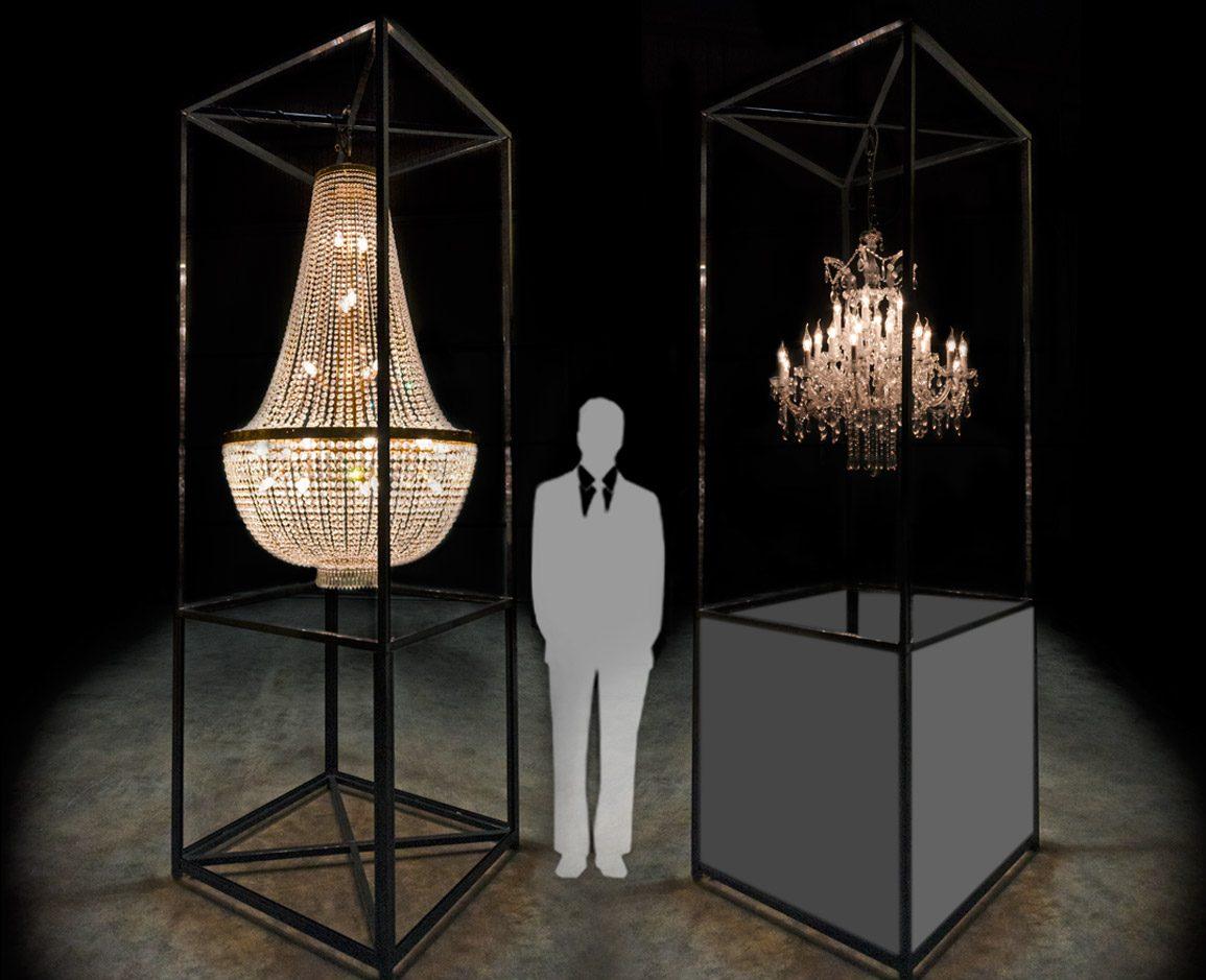 Estructuras para colgar lamparas