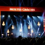 Iluminación concierto david bisbal madrid