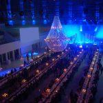 iluminación Desfile de moda mango