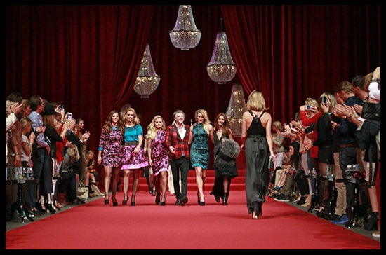 Lamparas desfile de moda RAAK