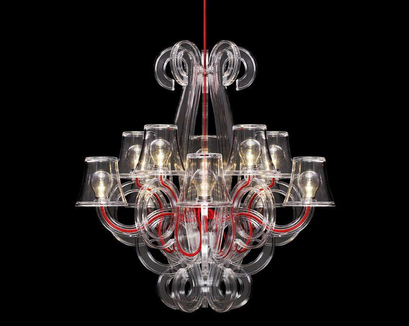 lámparas de araña exterior Tipo EX01
