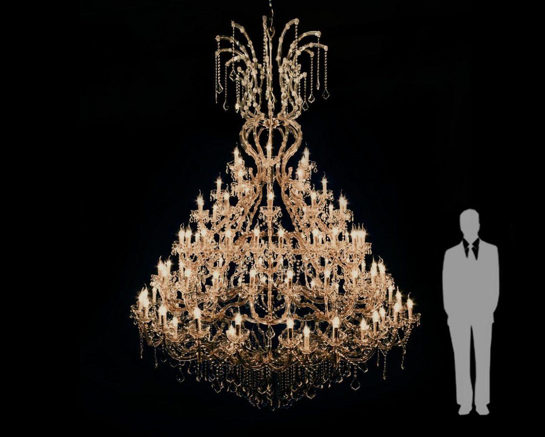 lámpara de cristal Maria Teresa Tipo MT108