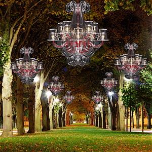 lamparas de araña exterior