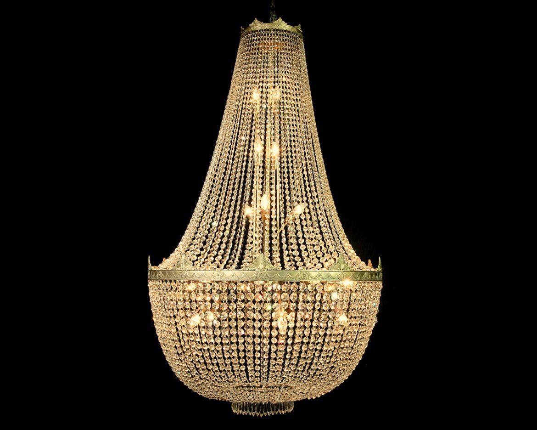 lámpara de cristal imperio Tipo 3