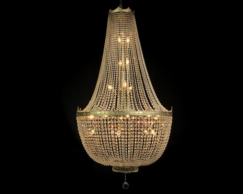lámpara de cristal imperio Tipo 2