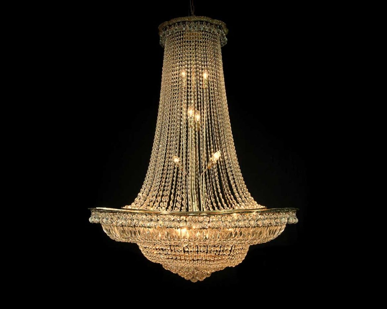 lámpara de cristal imperio Tipo 4