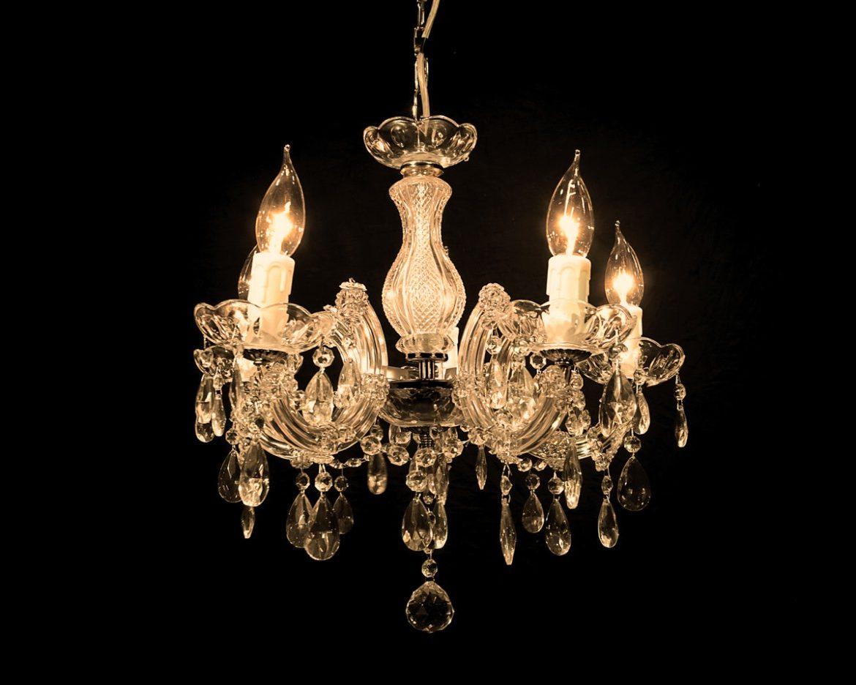 lámpara de cristal Maria Teresa Tipo MT05