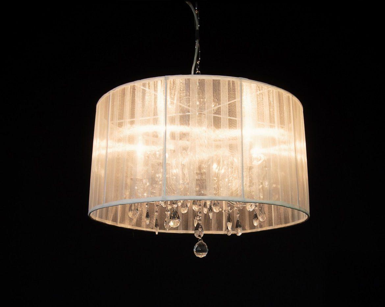 lámpara de cristal Maria Teresa Tipo MT05 Blanco