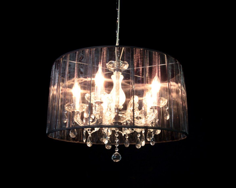 lámpara de cristal Maria Teresa Tipo MT05 Negro