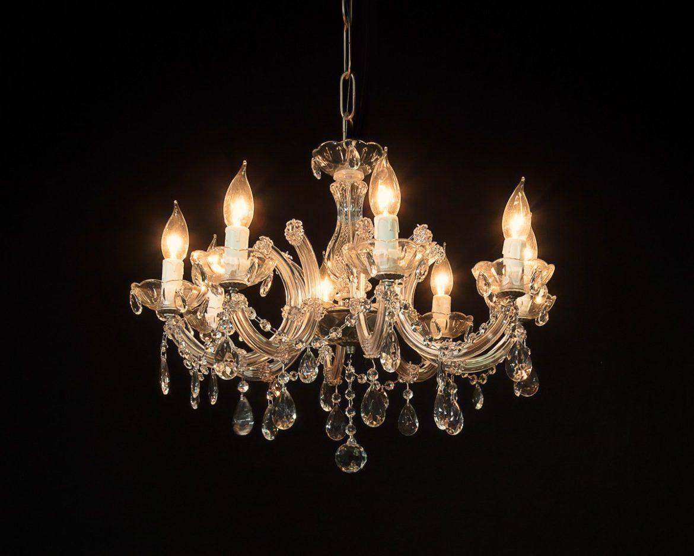 lámpara de cristal Maria Teresa Tipo MT08