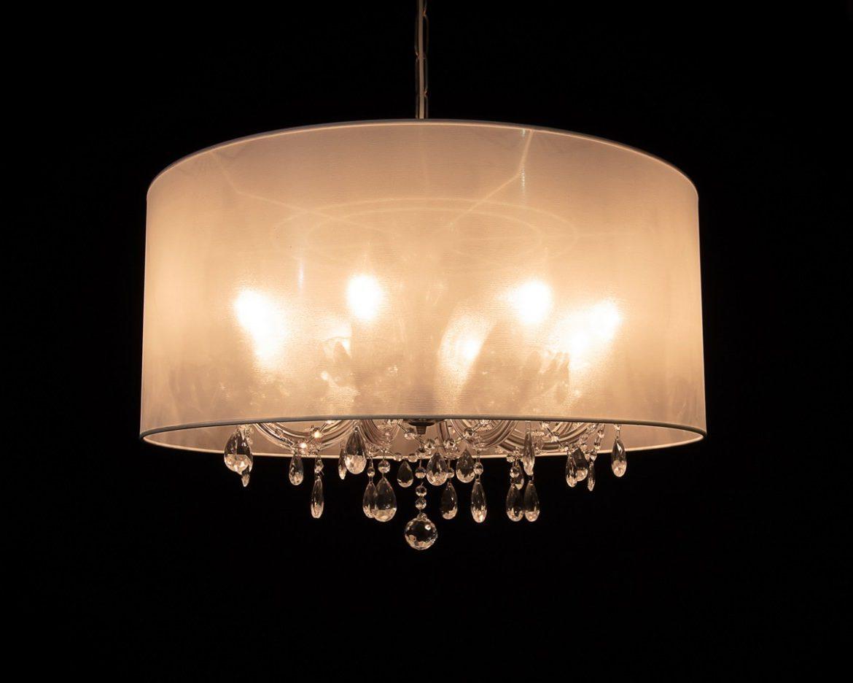 lámpara de cristal Maria Teresa Tipo MT08 blanco