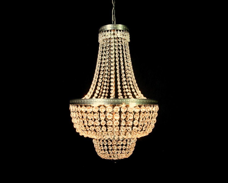 lámpara de cristal imperio Tipo 1
