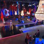 lamparas aniversario de la Televisión SIC en LIsboa