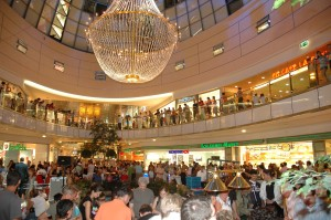 Lampara grande centro comercial