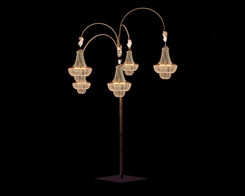 Iluminaci n para bodas y eventos a nivel europeo - Estructuras para lamparas ...