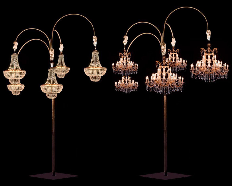 Estructura Arbol para lamparas