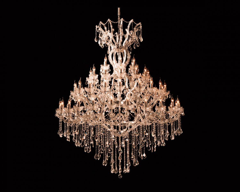 lámpara de cristal Maria Teresa Tipo MT60