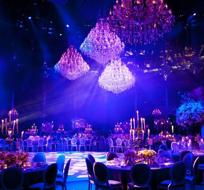 Una casa de candelabros – boda de lujo en Londres