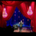 performance televisiva en el teatro